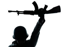 revolutionär soldat för arméman Arkivbilder