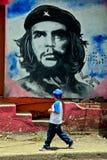 Revolutionäres Che Guevara-Wandgemälde in der Stadt von Esteli, Nicaragua lizenzfreie stockfotos