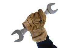 Revolution. Workers hand , Revolution symbol 1 royalty free stock photos