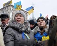 Revolution Advantages_123 Kyiv Maidan Lizenzfreie Stockfotos