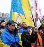 Revolution Advantages_124 Kyiv Maidan Stockbilder