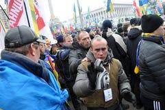 Revolution Advantages_125 Kyiv Maidan Lizenzfreie Stockbilder
