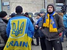 Revolution Advantages_126 Kyiv Maidan Lizenzfreies Stockbild
