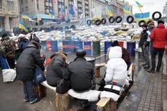 Revolution Advantages_128 Kyiv Maidan Stockbild
