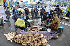 Revolution Advantages_129 Kyiv Maidan Stockbild