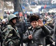 Revolution Advantages_130 Kyiv Maidan Stockbilder