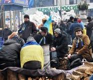 Revolution Advantages_131 Kyiv Maidan Stockfotos