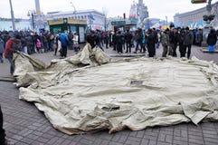 Revolution Advantages_133 Kyiv Maidan Lizenzfreie Stockbilder