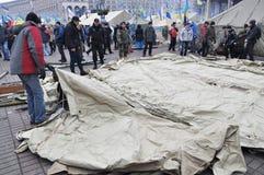 Revolution Advantages_134 Kyiv Maidan Lizenzfreie Stockbilder
