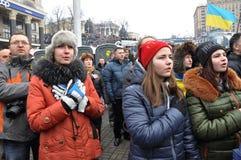 Revolution Advantages_136 Kyiv Maidan Lizenzfreie Stockbilder