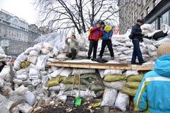 Revolution Advantages_143 Kyiv Maidan Stockbild