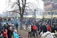 Revolution Advantages_145 Kyiv Maidan Lizenzfreies Stockbild