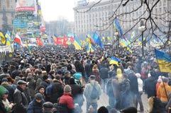 Revolution Advantages_147 Kyiv Maidan Lizenzfreie Stockfotos