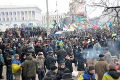Revolution Advantages_148 Kyiv Maidan Lizenzfreies Stockbild