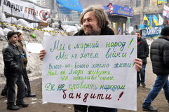 Revolution Advantages_149 Kyiv Maidan Lizenzfreie Stockbilder