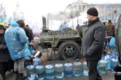 Revolution Advantages_150 Kyiv Maidan Lizenzfreie Stockfotos