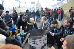 Revolution Advantages_153 Kyiv Maidan Stockfotografie