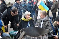 Revolution Advantages_154 Kyiv Maidan Lizenzfreies Stockfoto