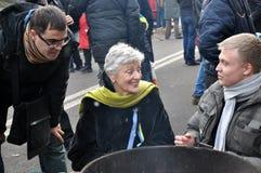 Revolution Advantages_155 Kyiv Maidan Lizenzfreie Stockbilder