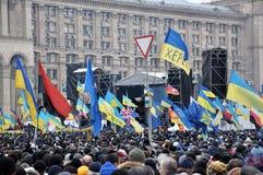 Revolution Advantages_157 Kyiv Maidan Stockbilder