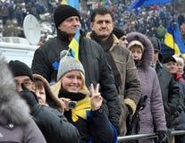 Revolution Advantages_159 Kyiv Maidan Stockfotografie