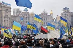 Revolution Advantages_160 Kyiv Maidan Lizenzfreie Stockbilder