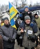 Revolution Advantages_163 Kyiv Maidan Stockbild