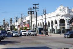 Revolution Avenue in Tijuana, Mexico stock photo