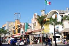 Revolution Avenue in Tijuana, Mexico royalty free stock photo