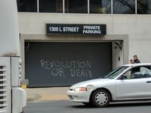 Revolution or Death Royalty Free Stock Photo