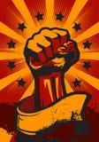 Revolution Fist Up Royalty Free Stock Photos