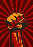 Revolution Fist Up Stock Images