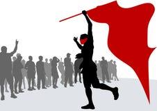 Revolution flag Stock Image