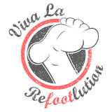 Revolution foot Royalty Free Stock Image