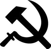 Revolution - Hammer and Sickel Stock Image
