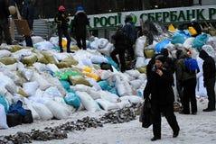 Revolution i Ukraina Arkivbilder