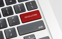 Revolution key Stock Photo