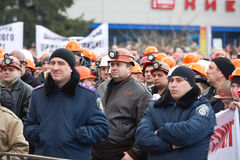 Revolution in Kharkiv (22.02.2014) Stock Photos