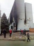Revolution in Khmelnytsky. Ukraine Stock Image