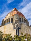1910 Revolution Monument Mexico City Mexico. Built in 1932 with the remains of many Revolutionary heroes royalty free stock image