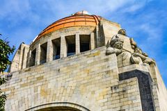 1910 Revolution Monument Mexico City Mexico. Built in 1932 with the remains of many Revolutionary heroes stock images