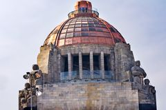 1910 Revolution Monument Mexico City Mexico stock image