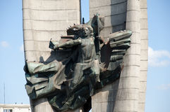 The Revolution Monument - Rzeszow - Poland Royalty Free Stock Photography