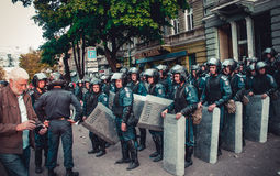 Revolution in Odessa Stock Photos