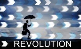 Revolution Revolutionary Innovation Concept. Revolution Revolutionary Innovation Business Concept Royalty Free Stock Images
