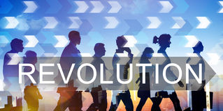 Revolution Revolutionary Innovation Concept. Revolution Revolutionary Innovation Business Concept Stock Image