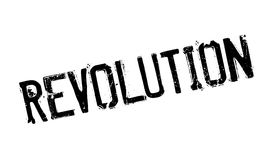 Revolution rubber stamp. Grunge design with dust scratches. Effects can be easily removed for a clean, crisp look. Color is easily changed Stock Image
