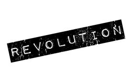 Revolution rubber stamp. Grunge design with dust scratches. Effects can be easily removed for a clean, crisp look. Color is easily changed Royalty Free Stock Photography