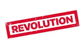 Revolution rubber stamp Stock Images