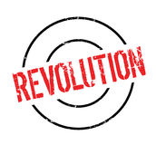 Revolution rubber stamp. Grunge design with dust scratches. Effects can be easily removed for a clean, crisp look. Color is easily changed Royalty Free Stock Photo